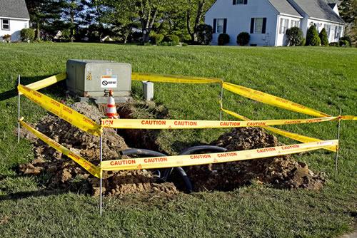 Underground electrical line repair